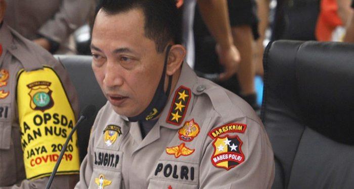 Jokowi Usulkan Listyo Sigit