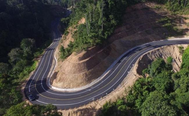 Jalan Perbatasan Indonesia