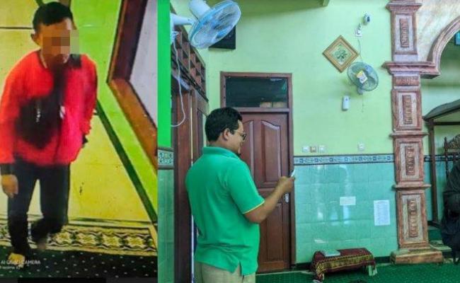 Pencurian Amplifier Masjid